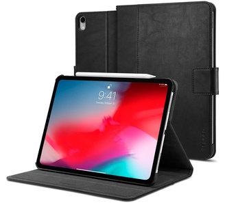 Spigen Stand Folio iPad Pro 12,9 inch 2018 + Pencil hoesje Zwart