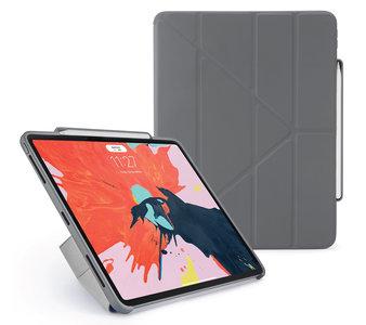 Pipetto Origami Pencil iPad Pro 12,9 inch 2018 hoesje Grijs