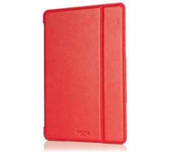 Knomo Leather Folio case iPad Air Red
