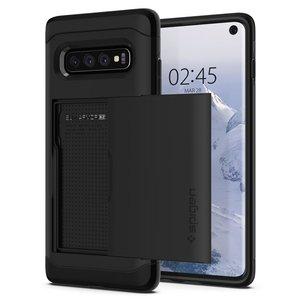 Spigen Slim Armor CS Galaxy S10 hoesje Zwart