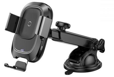Baseus Smart draadloze oplader autohouder Zwart
