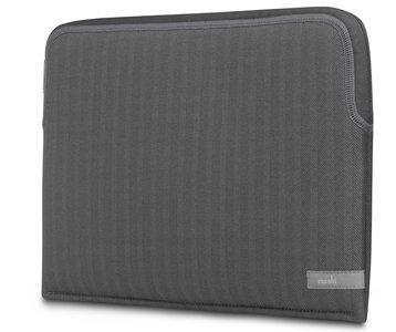 Moshi Pluma MacBook 13 inch 2018 sleeve Grijs