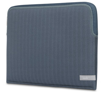 Moshi Pluma MacBook 13 inch 2018 sleeve Blauw