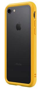 RhinoShield CrashGuard NX iPhone 8/7 bumper hoesje Zwart Geel