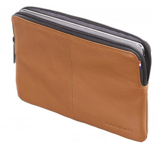 Decoded Leather Sleeve iPad mini Bruin