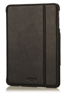 Knomo Leather Folio case iPad mini Retina Black