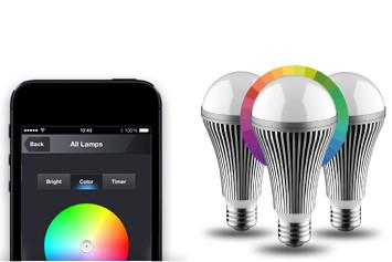 Nikkei Luxxus Wireless Color LED Starter Set