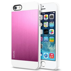 Spigen SGP Saturn case iPhone 5S/SE Metal Pink