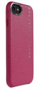 Decoded POP Leather iPhone 8 / 7 backcover hoesje Paars