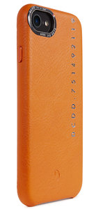 Decoded POP Leather iPhone 8 / 7 backcover hoesje Oranje